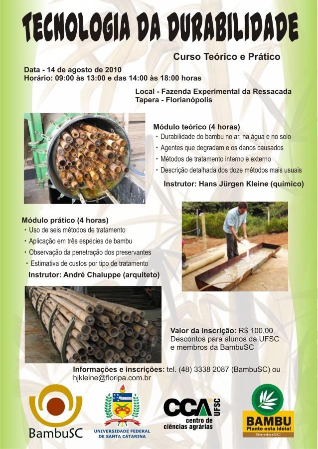 Curso de Tratamento de Bambu